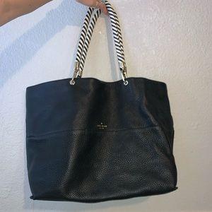 kate spade ♠️ black large tote purse